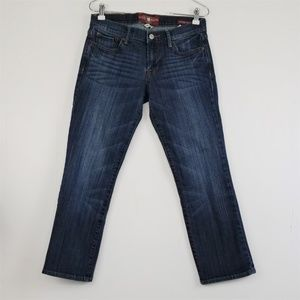Lucky Brand Sweet N' Crop Jeans Dark Wash